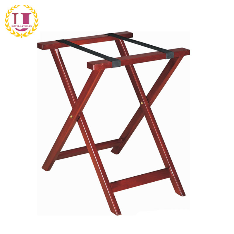 Hotel Room Wooden Folding Luggage Rack