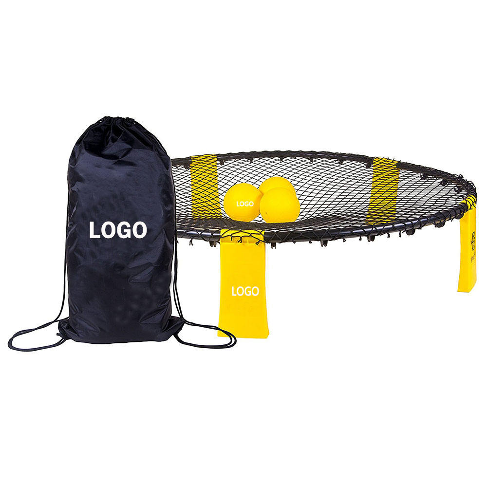 Custom Logo Beach Game Set Bingo Game Set Spikeball 3 ball Game Sets/Sports Spyderball