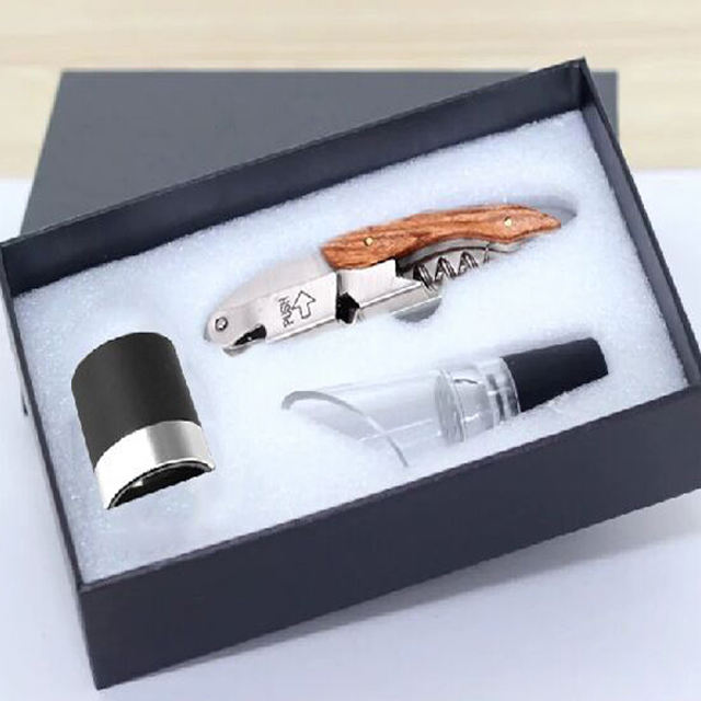 Best Seller Wine Gift Items Packaging Promotion Cheap Products for Party and Bar Tools Wine Accessories