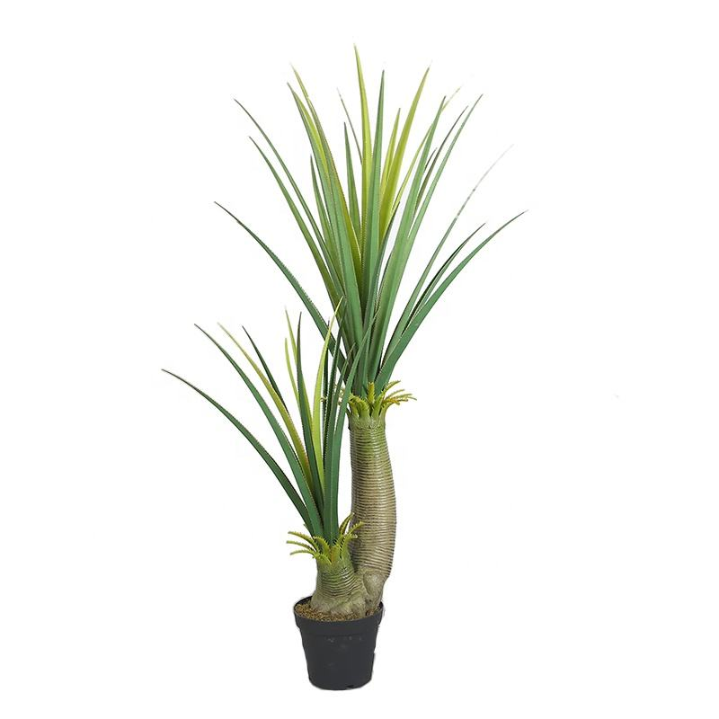 160 CM indoor ornament met fake plant Agave boom