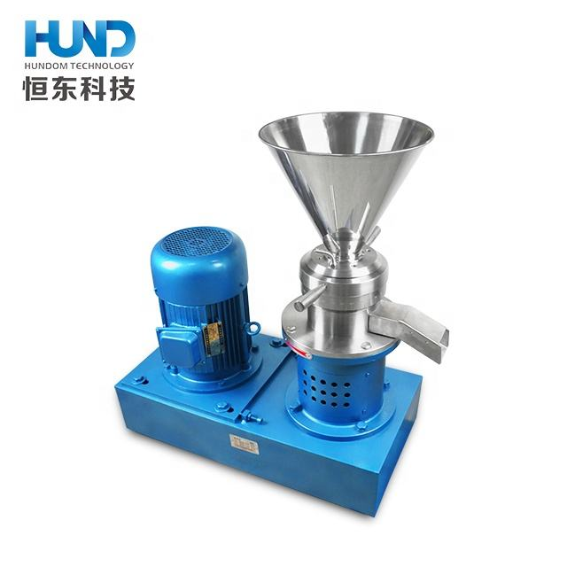 Stainless steel homogenizer hot pepper Sauce Colloid Mill tahini making machine