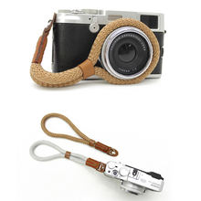 Manufacturer Climbing Custom Logo DSLR Rope Hand Camera Wrist Strap with Clips