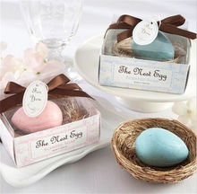 New style Mini scented soap Wedding gift bird's egg shape soap Hotel disposable soap