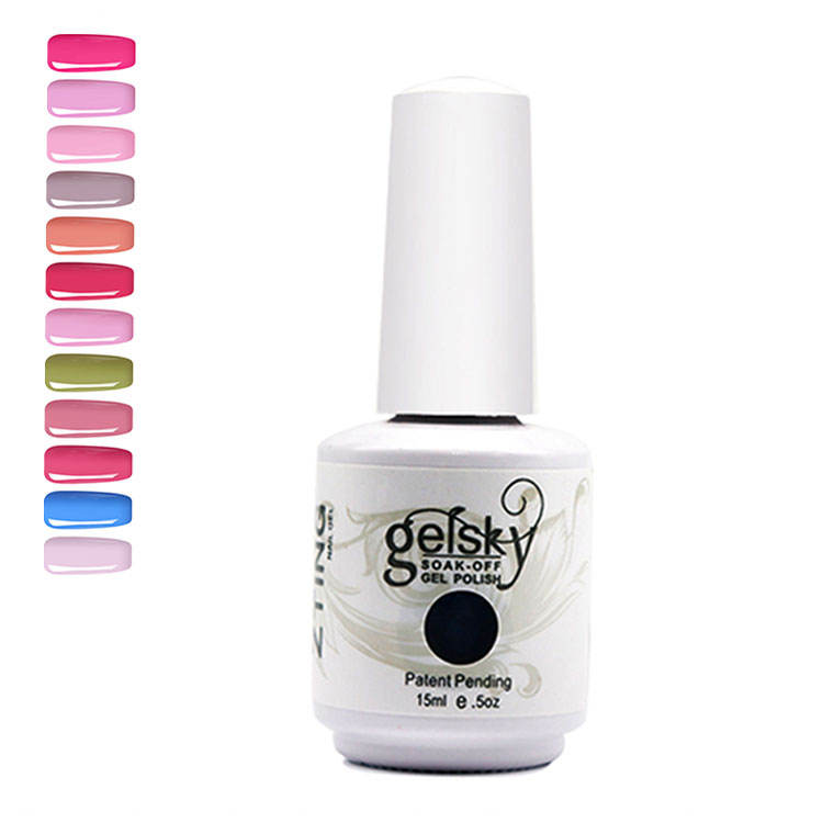 China Cosmetic Factory 602 Colors Gelpolish,nail Polish Essie Soak Off Uv Brushes Gel With Brushes
