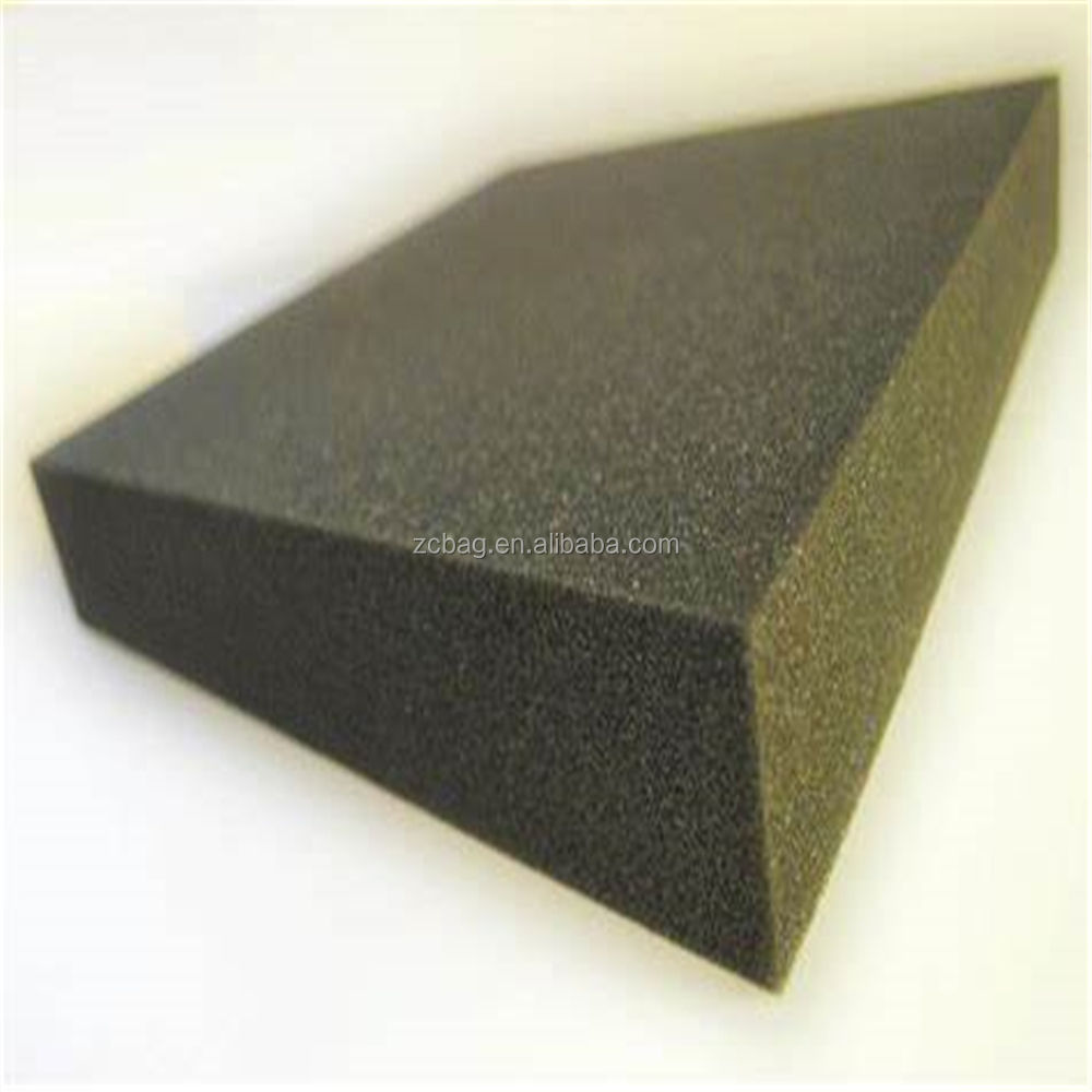 Plastic Reticulated polyurethane board for soft pu foam products ecofriendly material open cell filter PU foam sheet