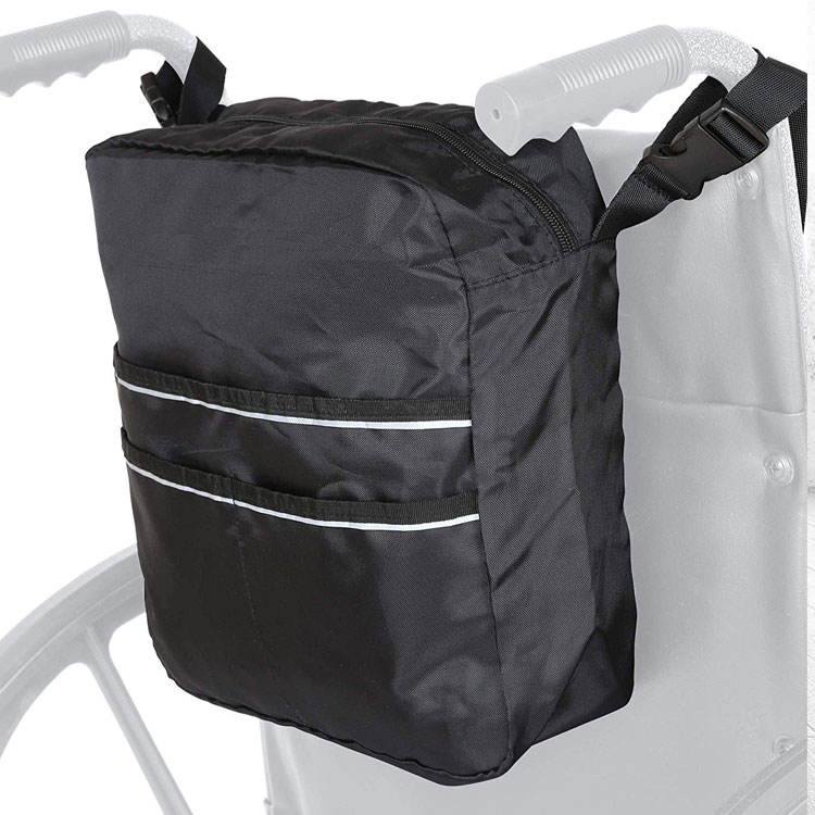 Wheelchair Mobility Bag - Great Simple Accessory Pack Fits Most Scooters, Walkers, Rollators Powered or Wheelchairs