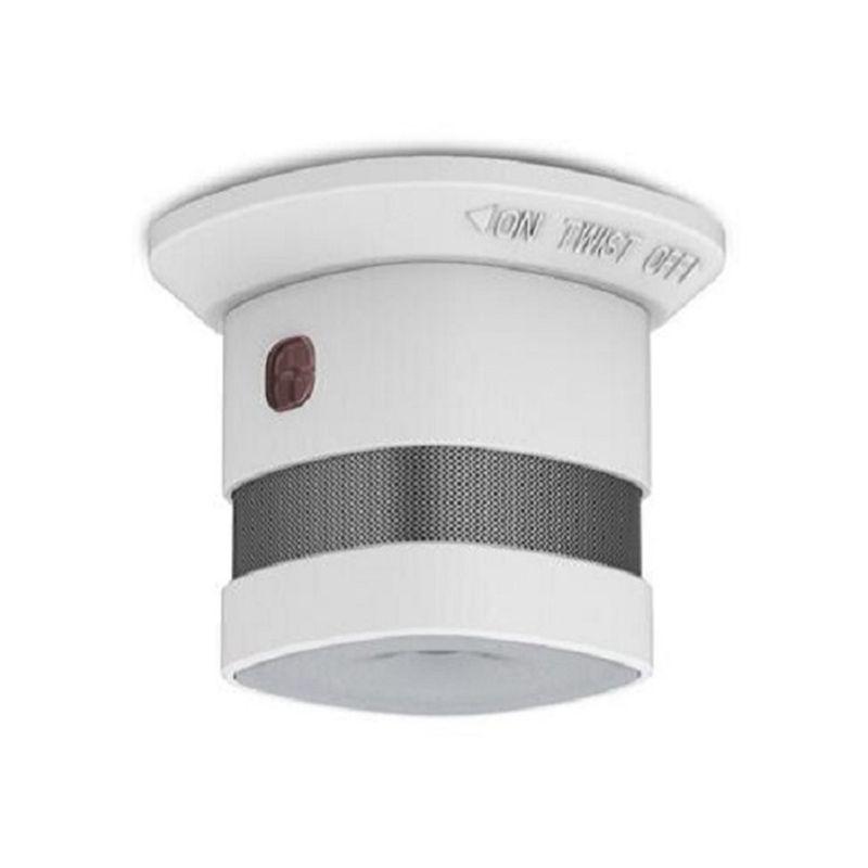 Alta sensibilidad china 10 años humo <span class=keywords><strong>alarma</strong></span> magnética detector de humo pitido con detector de humo de la etiqueta engomada