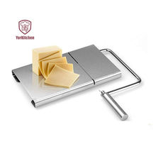 Cheese Slicer Stainless Steel Slicing Board for Cheese Hams