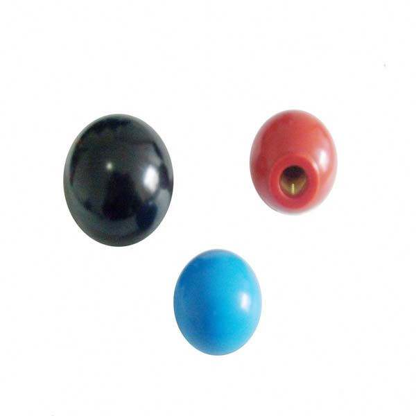 Materiali Hardware colorful door knob sfera di plastica manopola
