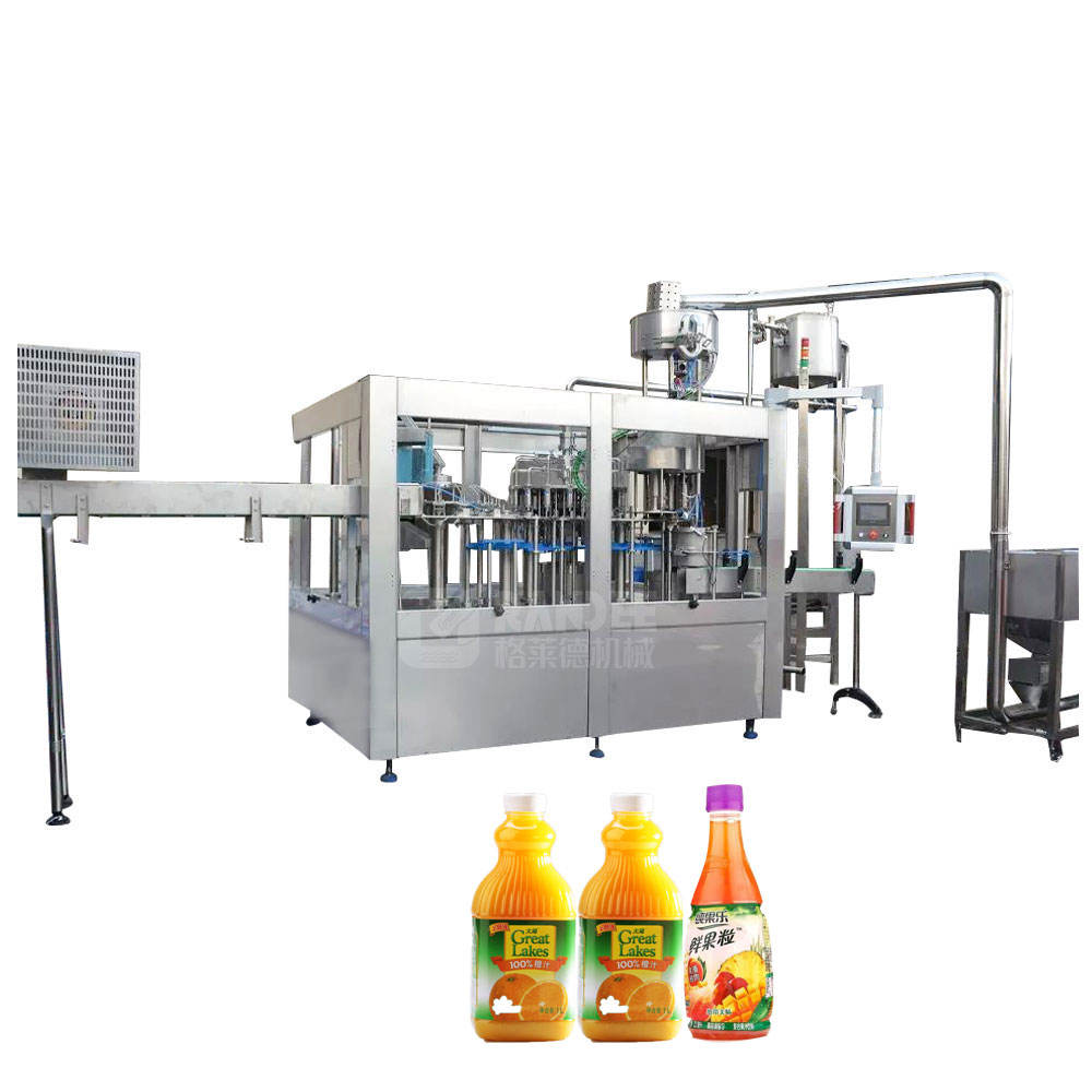 Automatic Small Scale Hot Juice Filling Machine / Water Bottling Plant