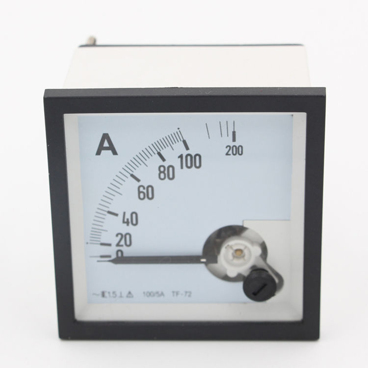 72*72 moving <span class=keywords><strong>eisen</strong></span> amperemeter <span class=keywords><strong>analog</strong></span> panel amp meter 72 mit mess ac 0-200a ampere meter <span class=keywords><strong>analog</strong></span>