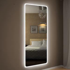 Full length smart light bathroom wall mirror LED dressing room backlit mirror price