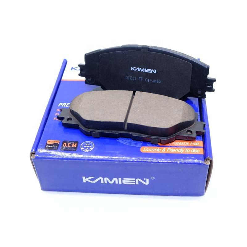 Premium quality wholesale auto disc car ceramic brake pad set for toyota corolla 2005