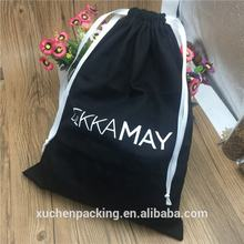 Custom cotton drawstring dust bag covers for handbag