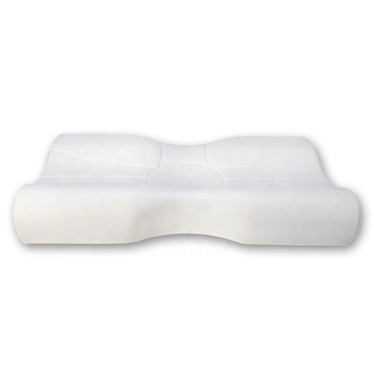 Traditional elastic anti snore best neck support memory foam pillow