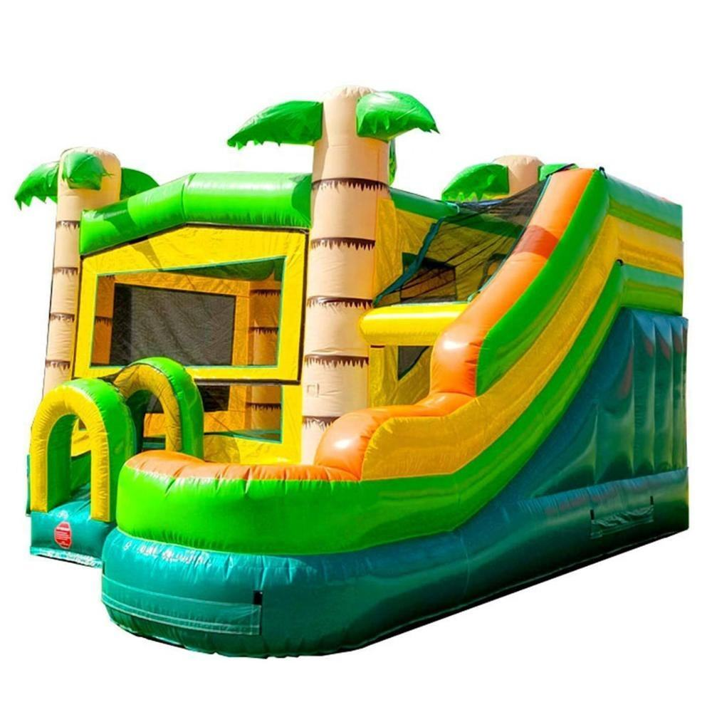 Wholesale price bouncy castle Professional suppliers inflatable bounce house for sale inflatable bouncer castle with slide