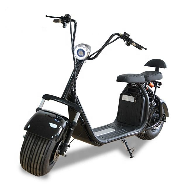big wheel 1500w electric scooter for russia fat tire citycoco scooter music