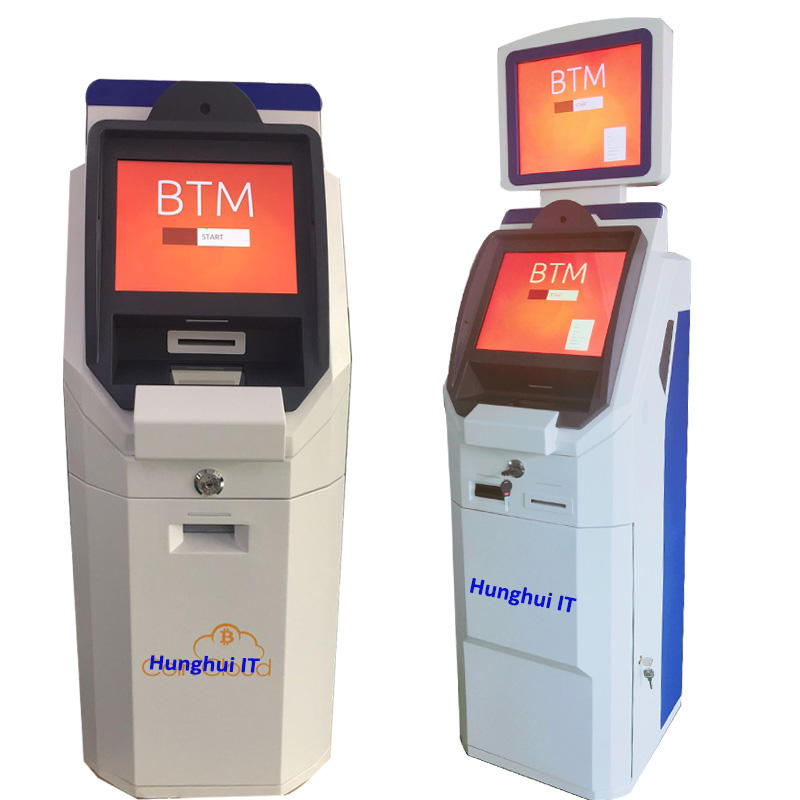 Hot sale shenzhen HungHui Bitcoin ATM Machine One Way and Two Way Bitcoin ATM with software