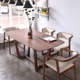 European Simple Design Dining Room Furniture Ash Wood Dining Table Set 4 Chairs