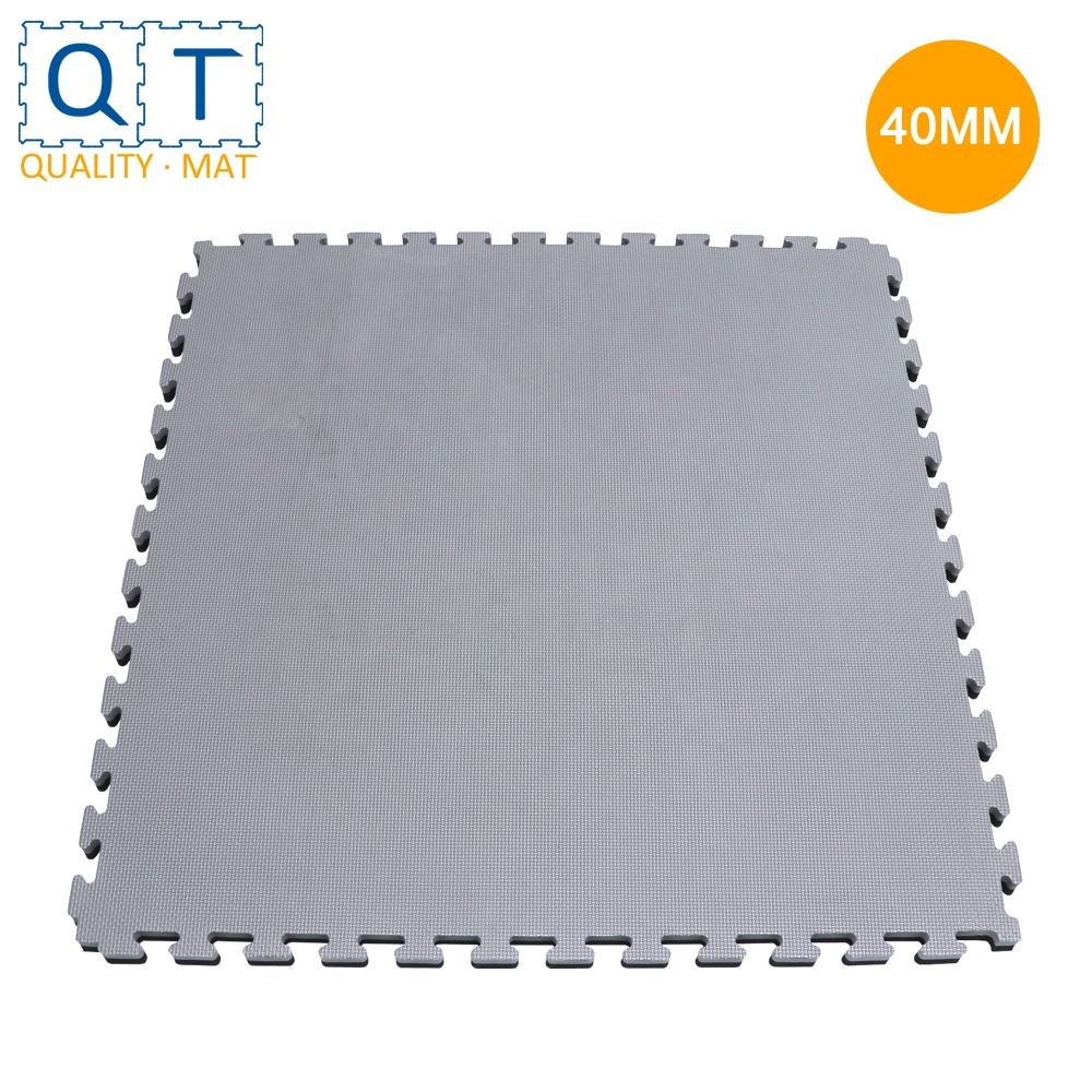 QT MAT Non-toxic Odorless Formamide Below 200PPM 39in x 39in 40mm EVA Home Gym Weight Lifting Mats