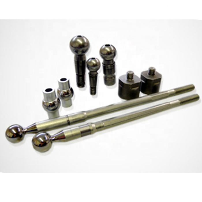 OEM factory customized long length stainless steel shaft universal swivel ball joint for car aircraft airplane