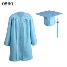 High Qualtity Kids Graduation Gown and cap and tassel