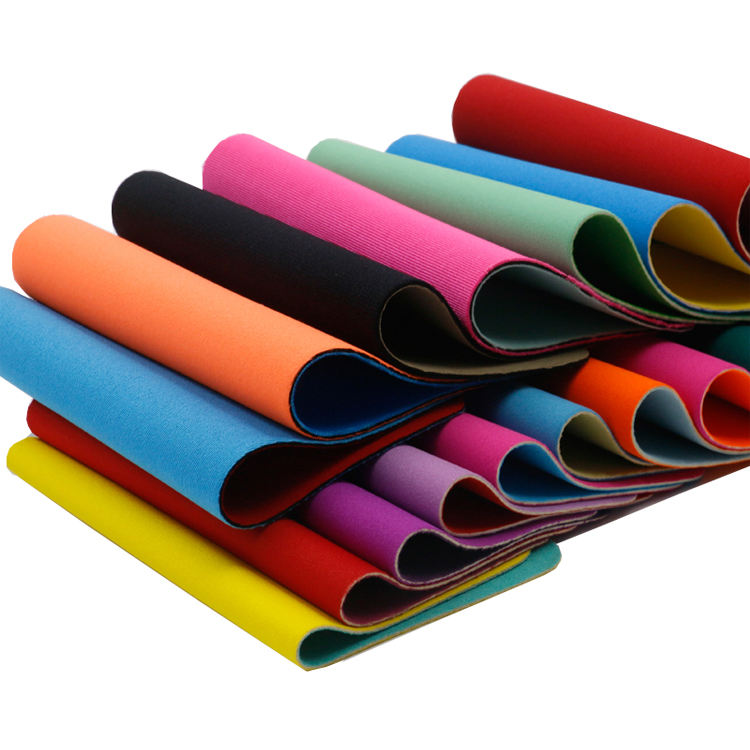 Direct Factory Custom Color Neoprene Rubber Sheets Different Thickness Fabric Neoprene