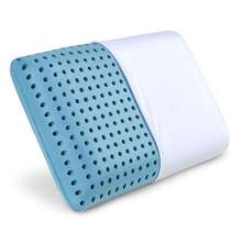 Memory Foam Pillow Cooling Sleeping Pillow for Back, Side, Stomach Sleepers -Cool Bed Pillow with Removable Bamboo Cov