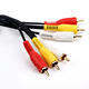 High quality 3 RCA male to 3 RCA male stereo cable for Audio equipment
