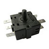 Step rotary switch small appliance heater switches 2 position