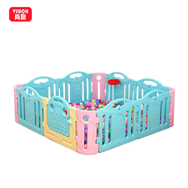 Playpen Professional Manufacturer Simple Design Easy Assembly Play Yards Playpen Baby Safe Playpens