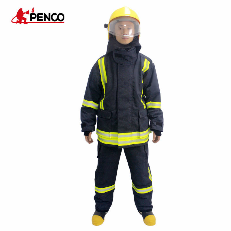 CE approved fire fighter suits /fire protective jacket and pants