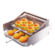 Commercial Electric Hamburger Machine Double Layer Burger Maker