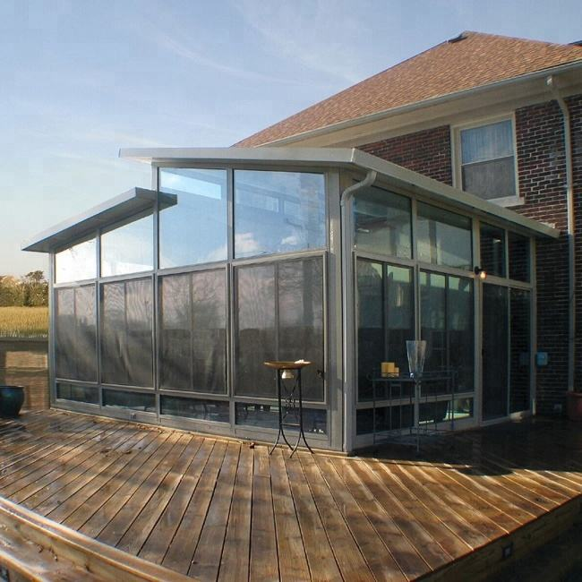 GaoMing Outdoor Glass House/ Sun Room/ Winter Garden Price 1340