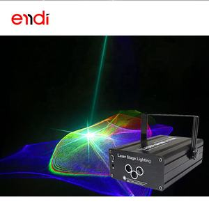 ENDI mini new laser stage lighting with 48 dynamic patterns for dj atmosphere equipment