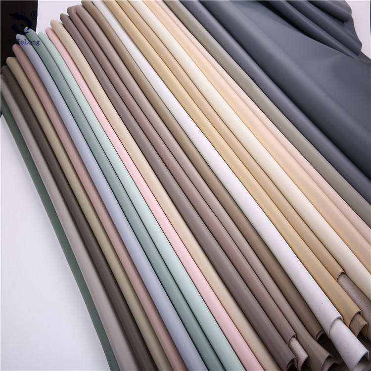 Semi PU synthetic leather fabric