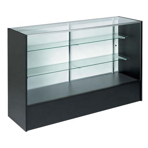 En gros en bois et en verre comptoir de caisse supermarché pour magasins de détail