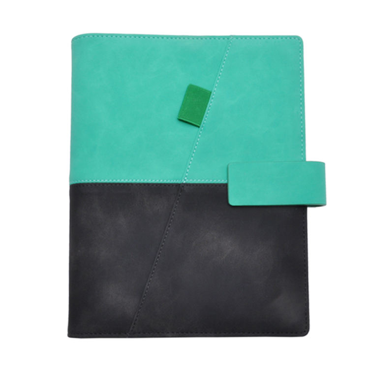 A5 Pu Leather Portfolio <span class=keywords><strong>Document</strong></span> Map Business Kantoor Conferentie Organizer Paperpad Houder
