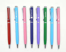 Hot Selling Ballpoint Pen Metal  Pen For Business Writing Office School Supplies