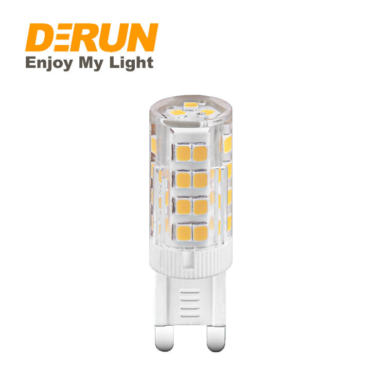 Hot Sales China Manufacturer Good Price Dimmable g9 led lampe 3W 4W 6W LED Corn g9 led light bulb 500lm , LED-G9