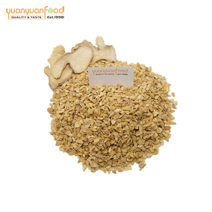 Wholesale dehydrated ginger granules single spice condiments