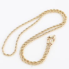 41576 Xuping Jewelry Fashion Gold Plated new gold 70cm long chain design for men