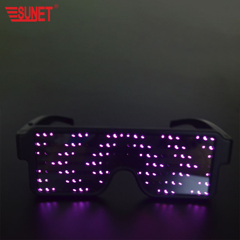 2020New Products Party Wedding Decoration Rechargeable Led Reading Party Glasses