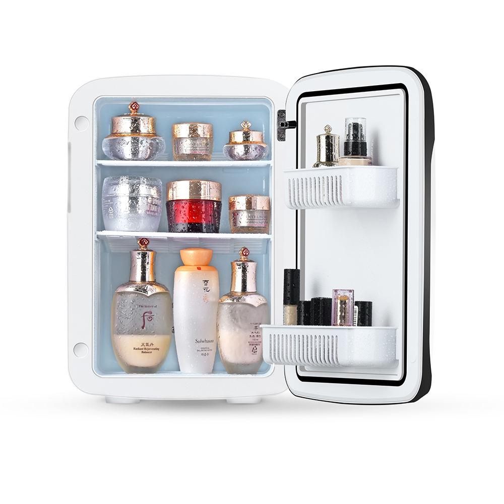 アマゾンの新製品ホットAQ-10L dc 12ボルトac 110ボルト230ボルトミニ冷蔵庫カスタム携帯ホーム冷たいドリンクミニ冷蔵庫
