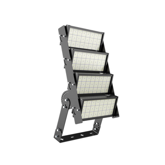 ENEC certificated Module Adjustable Installation 25 Meter High Mast Sports Flood Light