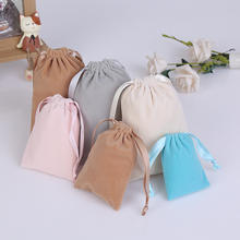 Super cute sundries storage bag  earphone keys packing flannel bag