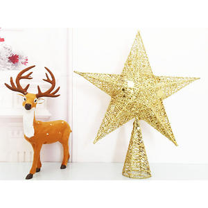 Promotional Fashion Christmas Tree Top Decoration Stars