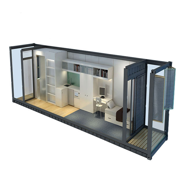 2019 export prefab container design luxury house cheap price