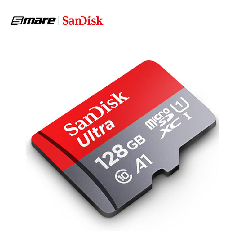 Low Price Original Wholesale SanDisk microTF SD card 64GB 128GB 32GB 256GB 200GB Flash Memory Cards A1 Ultra Class 10 U1 U3