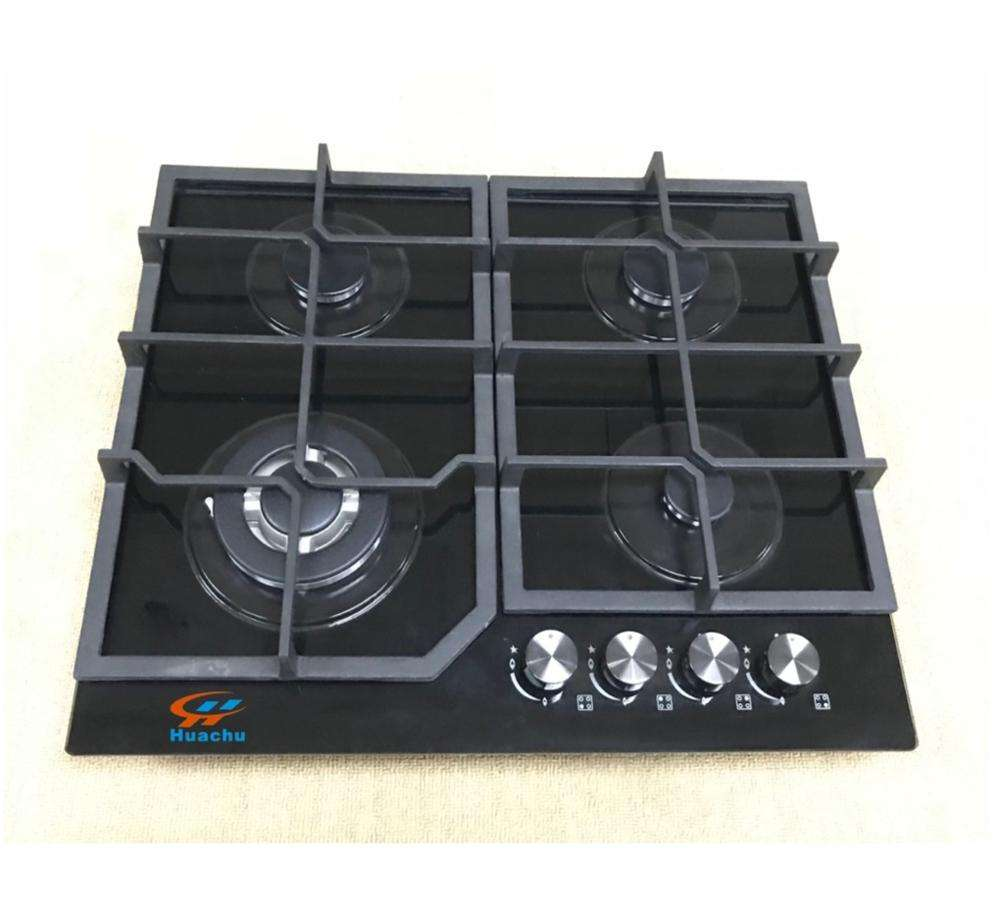 Royal used European 60cm cooktops 4 burner built-in corner gas hobs